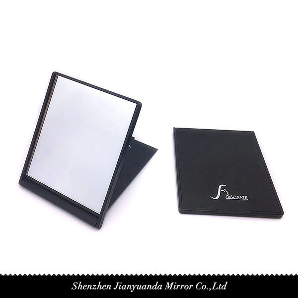 single side foldable square pocket mirror