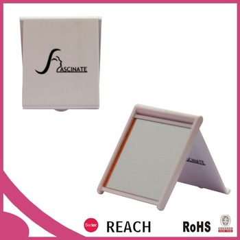 Promotional cheap small rectangular pocket mirror