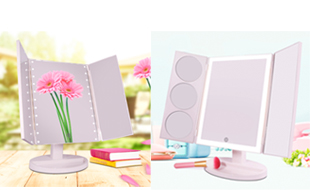 Launched a updated version of three sides Makeup mirror
