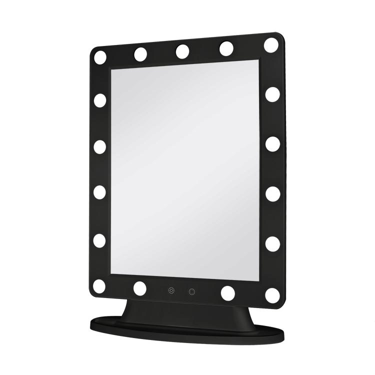 Tabletop Illuminated Hollywood Led Lighted Makeup Mirror