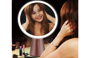 NEW ARRIVAL LED BLUETOOTH MAKEUP MIRROR