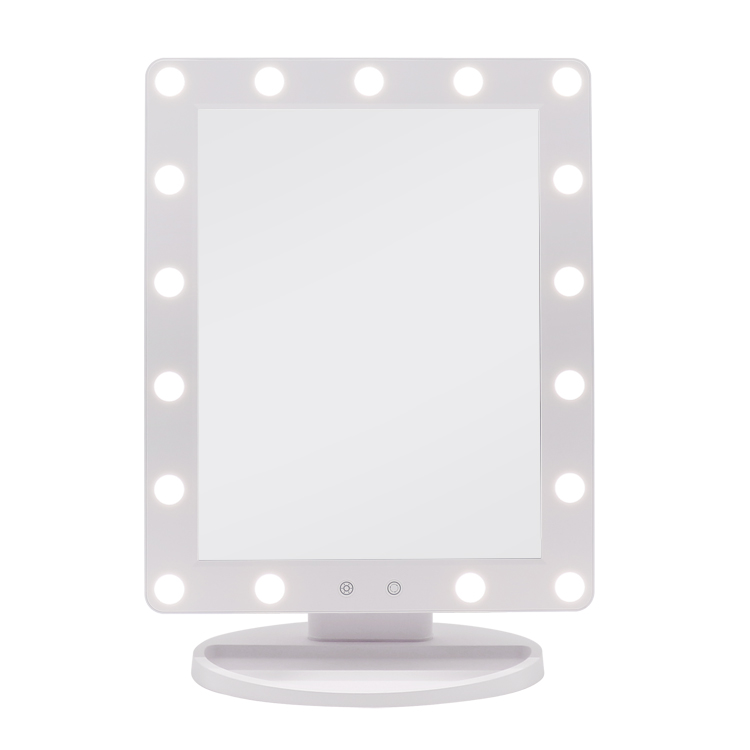 Lighted Vanity Hollywood Mirror with Dimmable Touch Control