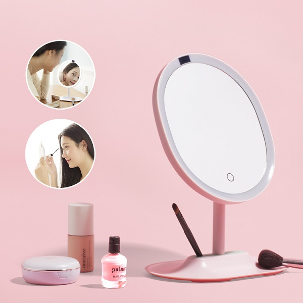 Motion Sensor led lighted makeup mirror
